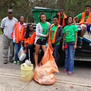 Winan UMC, Franklinton hosts community cleanup day