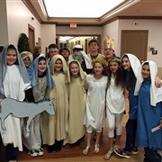 Raymond UMC, Jennings holds live nativity