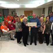 Asbury UMC, Lafayette presents $43,282 to Wesley's Table, a ministry of La. Memorial UMC, Opelousas