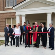First UMC, Crowley holds ribbon cutting for renovation project