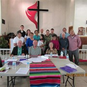 Native American ministries committee meets at Clanton Chapel UMC, Dulac