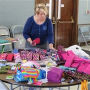 Ingleside United Methodist Church engaging global communities with kits for girls