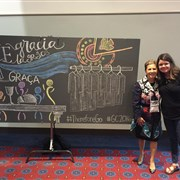 Hudson provides chalk recording during GC2016