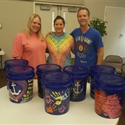 Louisiana Methodist Children's Home residents share 'Buckets of Hope'