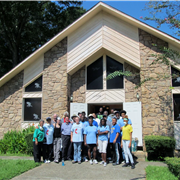 Local churches help sister congregation after floods